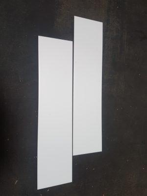 100X400 MATT WHITE TILES - $25m2