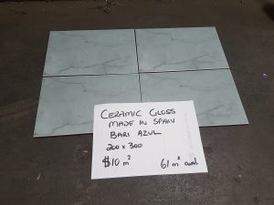 200x300mm BLUE GLOSS CERAMIC WALL TILES