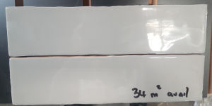 75x300 GREY CERAMIC TILES - $28m2
