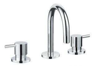 Round Handle Basin Set