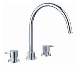 Round Handle Basin / Sink Set