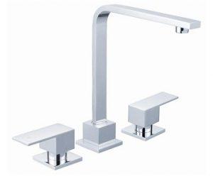 Square Handle Basin / Sink Set