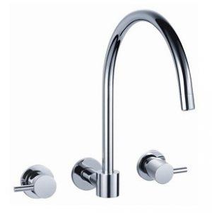 Round Handle Wall Sink Set