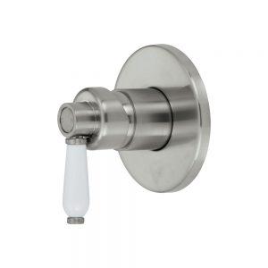ELEANOR Wall Mixer Diverter Brushed Nickel / Brushed Nickel 202102NN - image 202101BN-300x300 on https://portellihomecentre.com.au
