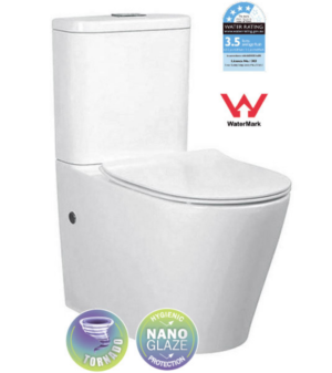 In Wall Rimless Toilet BL-102N-FST - image 08888-300x337 on https://portellihomecentre.com.au