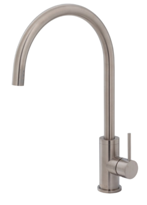 Kaya Basin Tap Set, Brushed Nickel 338101BN - image 121-KAYA-Sink-Mixer-Brushed-Nickel-300x417 on https://portellihomecentre.com.au