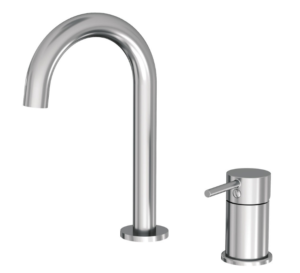 Kaya Basin Tap Set Chrome 338101 - image 126-KAYA-Hob-Mounted-Sink-Mixer-Set-300x273 on https://portellihomecentre.com.au
