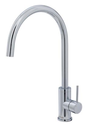 Kaya Basin Tap Set Chrome 338101 - image 130-KAYA-Sink-Mixer-300x427 on https://portellihomecentre.com.au
