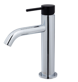 KAYA Basin Mixer, Matte Black Handle - image 133-KAYA-Basin-Mixer-Matte-Black-Handle-300x315 on https://portellihomecentre.com.au