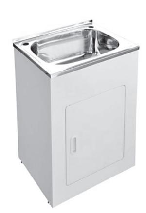 Citi UniCab™ 900 Vanity on Kickboard - image 600-laundry-tub-image-300x438 on https://portellihomecentre.com.au