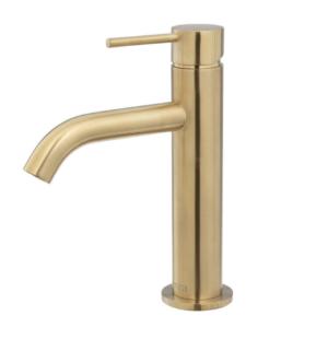 KAYA Basin Mixer, Urban Brass228103UB - image 95-KAYA-Basin-Mixer-Urban-Brass-300x310 on https://portellihomecentre.com.au