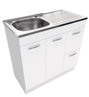 Citi UniCab™ 900 Vanity on Kickboard - image Citi-UniCab™-900-Vanity-on-Kickboard-image-300x328 on https://portellihomecentre.com.au