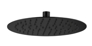 S/S Shower Head Round 300mm*2mm Rose Gold / SH16 (RG) - image KAYA-Round-250-Shower-Head-Matte-Black-image-1-300x150 on https://portellihomecentre.com.au