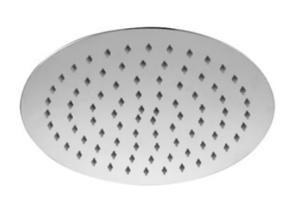 S/S Shower Head Round 300mm*2mm Rose Gold / SH16 (RG) - image SLICE-Round-200-Shower-Head-image1-300x203 on https://portellihomecentre.com.au