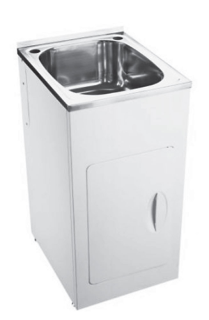 Citi UniCab™ 900 Vanity on Kickboard - image compact-laundry-tub-image-300x460 on https://portellihomecentre.com.au