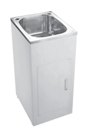 Citi UniCab™ 900 Vanity on Kickboard - image skinny-laundty-tub-image-300x452 on https://portellihomecentre.com.au
