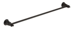 LILLIAN Towel Ring, Matte Black - image 100-LILLIAN-Towel-Rail-Matte-Black-300x133 on https://portellihomecentre.com.au