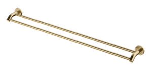 KAYA Robe Hook, Urban Brass - image 118-KAYA-900mm-Double-Towel-Rail-Urban-Brass-300x133 on https://portellihomecentre.com.au