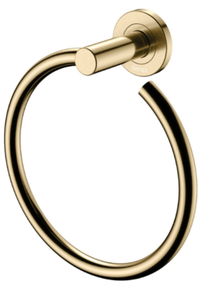 KAYA Robe Hook, Urban Brass - image 120-KAYA-Hand-Towel-Ring-Urban-Brass-300x413 on https://portellihomecentre.com.au