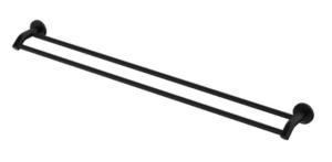 KAYA Robe Hook, Matte Black - image 127-KAYA-900mm-Double-Towel-Rail-Matte-Black-300x147 on https://portellihomecentre.com.au