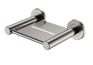 KAYA Robe Hook, Brushed Nickel - image 132-KAYA-Soap-Shelf-Brushed-Nickel-300x210 on https://portellihomecentre.com.au
