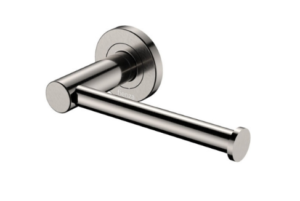 KAYA Robe Hook, Brushed Nickel - image 134-KAYA-Roll-Holder-Brushed-Nickel-300x201 on https://portellihomecentre.com.au