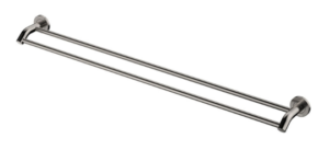 KAYA Robe Hook, Brushed Nickel - image 136-KAYA-900mm-Double-Towel-Rail-Brushed-Nickel-300x137 on https://portellihomecentre.com.au