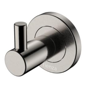 KAYA Robe Hook, Brushed Nickel - image 139-KAYA-Robe-Hook-Brushed-Nickel-300x292 on https://portellihomecentre.com.au