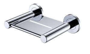 KAYA Robe Hook, Chrome - image 141-KAYA-Soap-Shelf-Chrome-300x181 on https://portellihomecentre.com.au