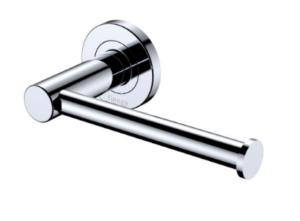 KAYA Robe Hook, Chrome - image 143-KAYA-Roll-Holder-Chrome-300x221 on https://portellihomecentre.com.au