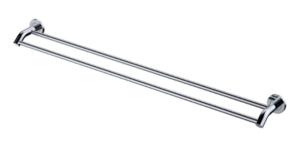 KAYA Robe Hook, Chrome - image 145-KAYA-900mm-Double-Towel-Rail-Chrome-300x147 on https://portellihomecentre.com.au
