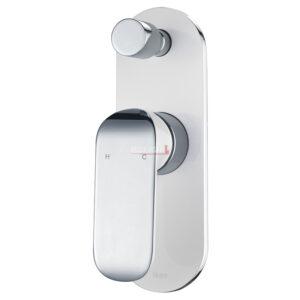 Kara Sink Mixer - White and chrome finish HYB11-101CW - image 16-Kara-Wall-Mixer-with-Diverter-White-and-Chrome-300x300 on https://portellihomecentre.com.au