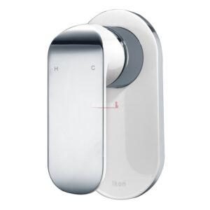 Kara Sink Mixer - White and chrome finish HYB11-101CW - image 17-Kara-Wall-Mixer-White-and-Chrome-300x300 on https://portellihomecentre.com.au