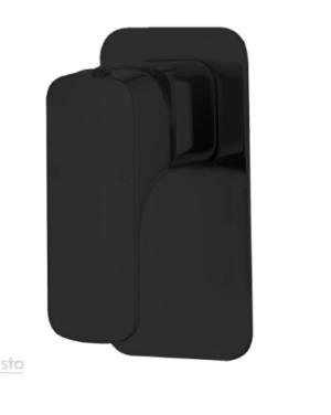 KARA MATT BLACK BASIN MIXER / HYB11-201MB - image 34-Shower-Bath-Mixer-Chaser-Black-1-300x376 on https://portellihomecentre.com.au