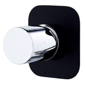 Zenon V2 - Basin Mixer - image 4-Shower-Bath-Mixer-Zenon-Noir-Black-and-Chrome-300x300 on https://portellihomecentre.com.au