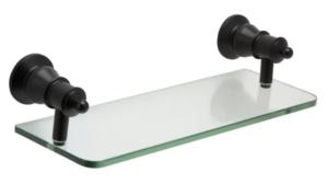 LILLIAN Towel Ring, Matte Black - image 98-LILLIAN-Glass-Shelf-Matte-Black-300x168 on https://portellihomecentre.com.au