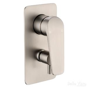 Celsior Kitchen Sink Mixer - Brushed Nickel - image SHM-21-DV-BN-300x300 on https://portellihomecentre.com.au