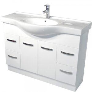 ANTONIO 600 Vanity, Solid Doors - image 120EKW-600x600-300x300 on https://portellihomecentre.com.au