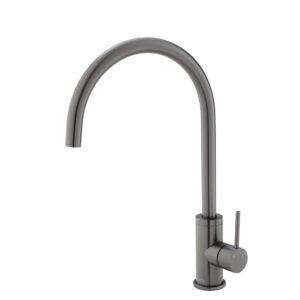 KAYA Basin Mixer, Gun Metal 228103GM - image 228105GM-300x300 on https://portellihomecentre.com.au