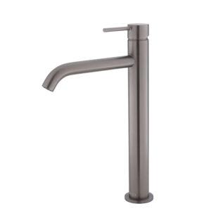 KAYA Basin Mixer, Gun Metal 228103GM - image 228107GM-300x300 on https://portellihomecentre.com.au