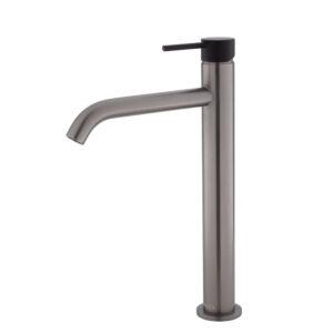 KAYA Basin Mixer, Gun Metal 228103GM - image 228107GMB-300x300 on https://portellihomecentre.com.au