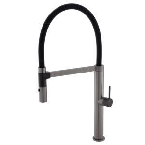 KAYA Basin Mixer, Gun Metal 228103GM - image 228109GMB-300x300 on https://portellihomecentre.com.au