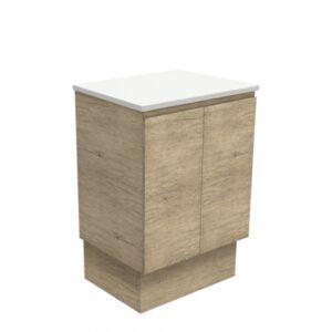 Edge Scandi Oak 600 Wall-Hung Cabinet 60S - image 60SK-600x600-300x300 on https://portellihomecentre.com.au