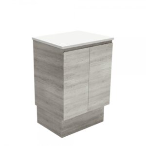Edge Scandi Oak 600 Wall-Hung Cabinet 60S - image 60XK-600x600-300x300 on https://portellihomecentre.com.au