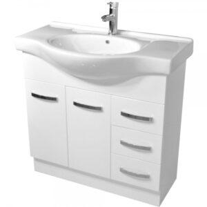 ANTONIO 600 Vanity, Solid Doors - image 90EKW-600x600-300x300 on https://portellihomecentre.com.au