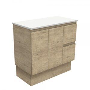 Edge Scandi Oak 600 Wall-Hung Cabinet 60S - image 90SK-600x600-300x300 on https://portellihomecentre.com.au