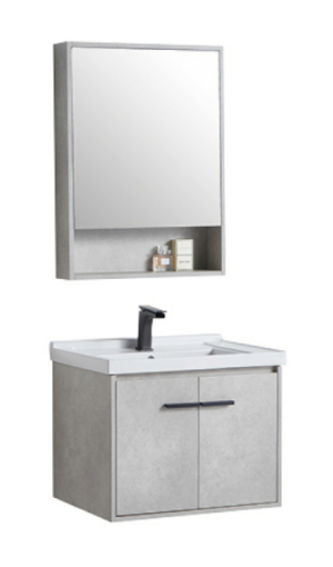 CASERTA Vanity, Basin & Shaving Cabinet Set 600mm – ACBA-2006-60 - image CORTONA-600-300x510 on https://portellihomecentre.com.au