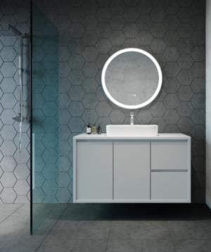 GATSBY LED Wall Mirror RGA45 / 450 x 900 - image ECLIPSE-FLEX-300x358 on https://portellihomecentre.com.au