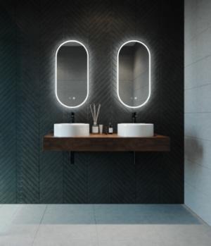 GATSBY LED Wall Mirror RGA45 / 450 x 900 - image GATSBY-300x349 on https://portellihomecentre.com.au