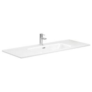 JOLI 600 Ceramic Basin-Top / 1 Tap hole - image JOL120-600x600-300x300 on https://portellihomecentre.com.au